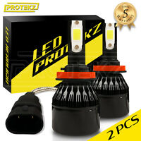 H1 LED Headlight Bulbs Kit CREE for Honda Prelude 1997-2001 High Beam 6000K
