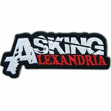 Asking Alexandria Embroidered Sew Iron On Patch Jacket Vest T Shirt Cap #M0027