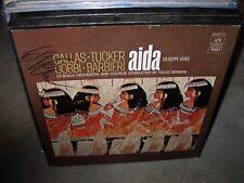 SERAFIN / CALLAS / VERDI aida ( classical ) 3lp box angel