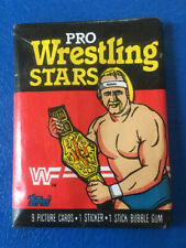 1985 TOPPS WWF WRESTLING UNOPENED FACTORY SEALED PACK! CLEAN! HULK HOGAN RC???
