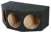 "Q Power BASS12 3 Hole 12"" Sealed Car Subwoofer Enclosure Box   35 x 20.25 x 15"