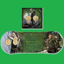 NZ 2013 The Hobbit: The Desolation of Smaug Brilliant Uncirculated Coin Set,!!!!