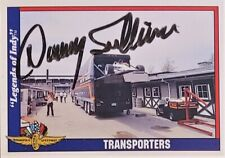 DANNY SULLIVAN signed 1991 LEGENDS OF INDY card #7 INDY RACING GREAT
