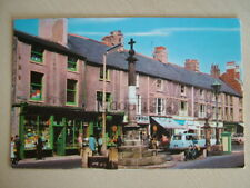Postcard - STOCKS & MARKET PLACE, POULTON-LE-FYLDE. Used 1975. Standard size.