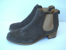 NEW ALBERTO FERMANI 6 Gray Suede ankle Booties $475