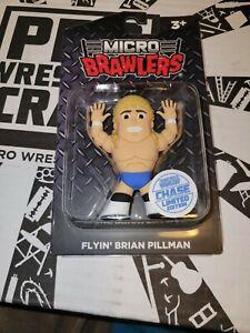 Flyin' Brian Pillman Micro Brawler CHASE Variant Pro Wrestling Crate