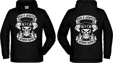 Kapuzensweater SONS OF ARTHRITIS - Ibuprofen Chapter Anarchy, Biker L -5XL