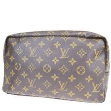 Auth LOUIS VUITTON Trousse Toilette 28 Clutch Hand Bag Monogram M47522 66EZ680