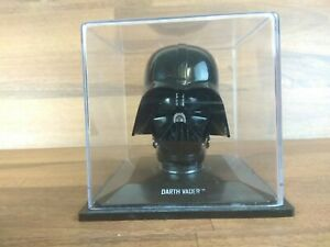 Official Star Wars Darth Vader Plastic Head Figure IN PLASTIC BOX CASE