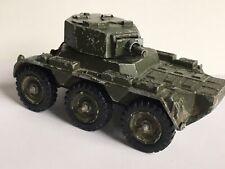 Vtg Corgi Toys British Army Saladin 6-Wheeled Military Armored Car Hong Kong
