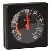 HR-IMOTION Bimetall Thermometer 5 x 5 cm justierbar selbstklebend konvex