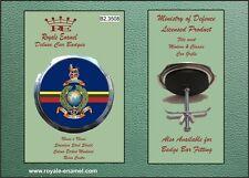 Royale Military Car Grill Badge - ROYAL MARINES GLOBE & LAUREL INSIGNIA B2.3508