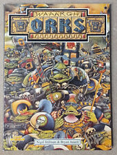 Waaargh The Orks! OOP Warahmmer 40k Rogue Trader sourcebook