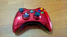 Manette Xbox 360 Controller Officiel Manette - Limited Edition Chrome Rouge
