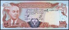 1977 Afganistán 500 afganos billete * AUNC * P-52 *