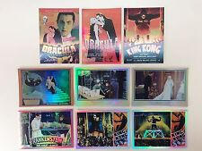 MOVIE POSTERS STARS MONSTERS & COMEDY Breygent Complete Chase Card Set VM1-VM9