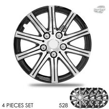 New 15 inch Hubcaps Wheel Covers Full Lug Skin Hub Cap Set 528 For Chevy