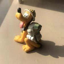 Disney Pluto Safari Animal Kingdom Adventure Photographer Plastic Figurine Toy