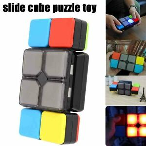 Magic Flip Slide Cube Music LED Puzzle Toy Multiplayer Electronic Game Toys Gift