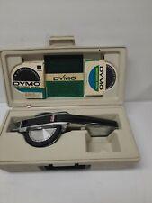 Vintage Dymo Label Maker Kit Bundle 1570 Withcase