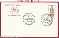 ITALIA FDC CAVALLINO NATALE DONATELLO BASILICA DEL SANTO PADOVA 1986 TORINO Y447