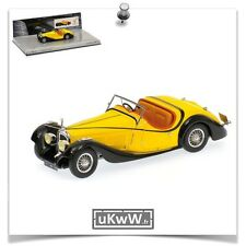 Minichamps 1/43 - Voisin C27 Grand Sport cabriolet 1934 jaune collection Mullin