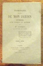 PROMENADE AUTOUR DE MON JARDIN CONFÉRENCE AUX DAMES DU MONDE 1868