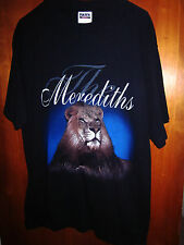 MERIDETHS large concert tee Lion of Judah tour Southern Gospel T shirt Christian