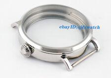 P169 ETA 6497 6498 Movement Men's Watch Kit 46mm Parnis Polished Big Watch Case