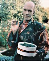 Carel Struycken As Mr Homn Star Trek TNG Autographed 8 1/2 x 11 in. Photo