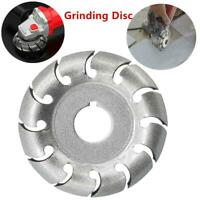 Electric Angle Grinder Shaping Blade Wood Carving Disc Cutting Wood work Tool