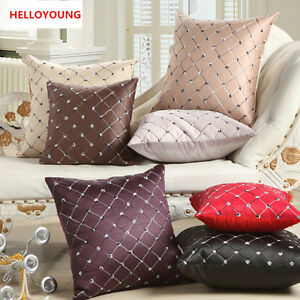 Luxury Cushions Cover Pillow Case Polyester Pillow Covers Without Cushion Core