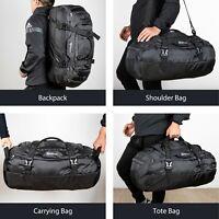 Ubon Mens Large Waterproof Duffle Bag Travel Gym Sports Bag Carry On Luggage