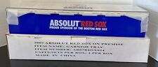 New ABSOLUT Vodka Red Sox Bar 6 Compartment Garnish Condiment Fruit Tray Holder