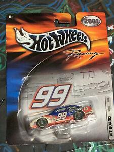 Hot Wheels Pro Racing 2001 Ford Taurus #96 CITGO Pit Board NASCAR