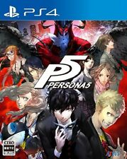 NEW PlayStation 4 PS4 Persona 5 P5 (HK CHINESE Version)- Dispatch NOW