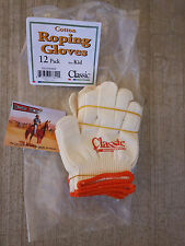 Classic Deluxe Roping Gloves 12 pack Kid Size Success is in your hands Horse