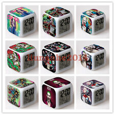 Suicide Squad Alarm Clock Harley Quinn Joker Color Changing LED Night Watch Gift