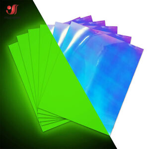 Glow in the Dark Heat Transfer Vinyl Iron on Film T-shirt Vinyl DIY HTV Printing