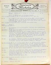 1925   ITINERAIRE MICHELIN   MEULAN VERNON    CARTE BIBENDUM