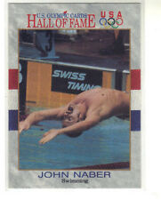 1991 Impel Olympics Hall of Fame  # 18 JOHN NABER