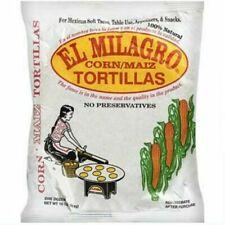 El Milagro Corn Tortillas Maiz 10oz, 24 Pack