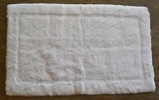 """Abyss Habidecor White Rug Mat Must Bath Rug, 20 x 31"""", color 100 White"""