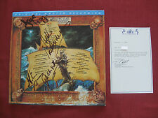 "MFSL/OMS issued (1) AUTOGRAPHED ""The Broadsword and the Beast"" LP by JETHRO TULL"