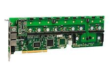 OpenVox A1200P0100 12 Port Analog PCI Base Card + 1 FXS + 0 FXO -Ethernet (RJ45)