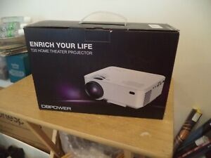 NEW DBPower  #T20 HOME THEATER PROJECTOR X0017ED6YB