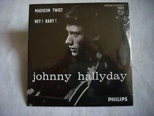 CD single Johnny Hallyday MADISON TWIST-HEY BABY!-Occasion comme neuf