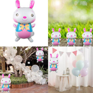Rabbit Shape Foil Balloons Self-Inflating Halloween Party Decorations