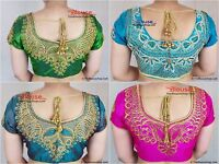 Saree Blouse New Readymade Designer Sari Choli Indian Party Wear Bollywood Dress