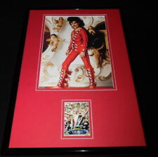 Freddie Mercury 11x17 Framed ORIGINAL Topps Card & Queen Photo Display